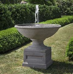 Free Shipping and No Sales Tax on the Condotti Outdoor Water Fountain from the Outdoor Fountain Pros.