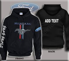 Children/'s Licensed Genuine Ford Zip Hoodie Jacket Vintage Classic Blue Logo