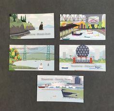 Vancouver Landmark Magnets