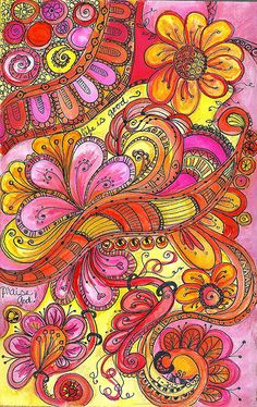 Painting and Doodles by SharonAnn53 via flickr