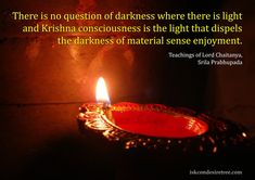 quotes+on+consciousness | Krishna Consciousness Compared to Light | Hare Krishna Quotes