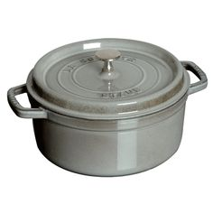 A heavy cocotte (dutch oven) seals the moisture in with your food.