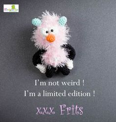 www.woolytoons.com Heart Art, Crochet Toys, Om, Arts And Crafts, Hearts, Design, Amigurumi, Crocheted Toys, Gift Crafts