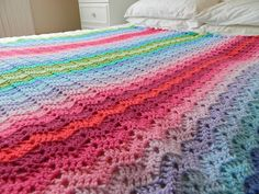 awesome crochet blanket