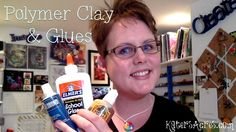 Household Glues You Can Use with Polymer Clay by KatersAcres