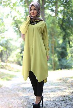 Busana Muslim 2017 Model Tunik