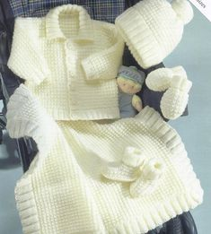 Hey, I found this really awesome Etsy listing at https://www.etsy.com/listing/247629921/knit-baby-cardigan-jacket-hat-mittens