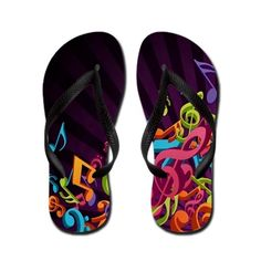 Shop Flip Flops from CafePress. Come check out our giant selection of Flip Flops for Men, Women and Kids. Piano Gifts, Music Gifts, Buy Music, Rock Music, Madison Style, Band Outfits, Walk In My Shoes, Mens Flip Flops, All About Music