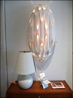 pvc lamp--my sweetheart is going to love this idea!