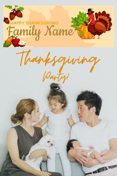 · Fall leaves Pumpkin Personalized Happy Thanksgiving Banner' . The picture shows a Seasonal Thanksgiving design. . This Thanksgiving banner is great for the person who needs Family Thanksgiving Ideas. · The banner can be a backdrop or an additional party decoration. · Made of high-quality vinyl, durable, lightweight. · Personalized by adding your name. Thanksgiving Banner, Family Thanksgiving, Thanksgiving Parties, Party Wall Decorations, Personalized Banners, Social Events, Fall Leaves, Picture Show, Fall Decor