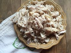 Slow Cooked Shredded Chicken
