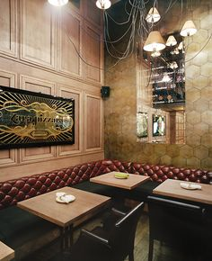 Zara Pizzara restaurant by Studio Belenko, Odessa   Ukraine