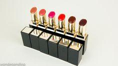 SUQQU Moisture Rich Lipstick Swatch Set & an Ichijiku Showdown!