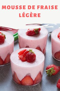 Flan, Vegan Ice Cream, Brownie Cookies, Strawberry Recipes, Cheesecake, Food And Drink, Fruit, Cooking, Tasty Food Recipes
