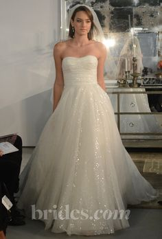Brides.com: Wtoo - Spring 2013. Gown by Wtoo  See more Wtoo wedding dresses in our gallery.