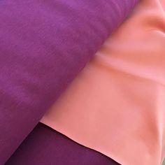 Scuba meliert – lila | Schnittverhext - Stoffe, Unikate