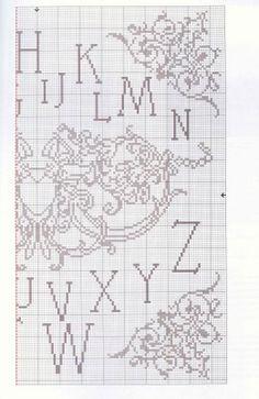 Filomena Crochet e Outros Lavores: - Monogramas#