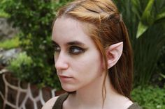 Wood Elf Latex Prosthetic Ears  Elven Link by MadhouseFXstudio