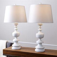 Pacific Loft Alexia Spiral Shape Table Lamp (Set of 2)