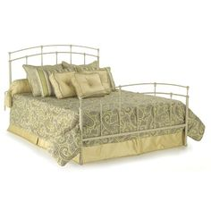 SKU #: FB1951 | Part #:B4124  FBG Fenton Complete Bed in Butter Pecan different finish $311 rev/sell