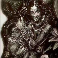 feminine mystique ॐ Kali Goddess, Mother Goddess, Goddess Art, Hindus, Buddhists, Sacred Feminine, Divine Feminine, Mother Kali, Kali Mata
