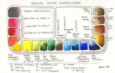 daniel smith, I've been dreaming about these colors