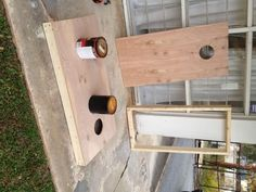 Kristen F. Davis Designs: I built a cornhole set!