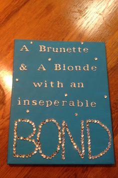 Gift idea for best friends!katie