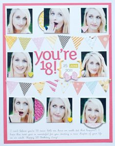 You're 18! (*American Crafts) by stephbaxteruk @2peasinabucket