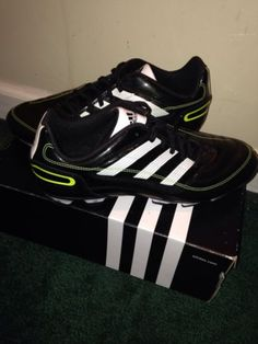 Men's Black Adidas Predito X TRX FG Soccer Shoes Cleats Size 8M #soccer #adidas #mensshoes #sportslovers
