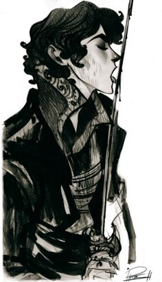 by Phobs on deviantArt <<This looks like it could be Sherlock