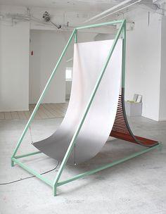 """pop-up-x: """" Magnhild Øen Nordahl - Trialog, 2013 Sculptures with sound. """""""