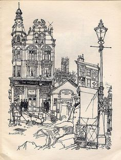 "Ronald Searle. What more can I say? ""So wry, so well observed and, so beautifully drafted. Curse you Searle!""KB"