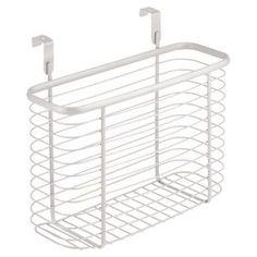 Over-Door Basket in White