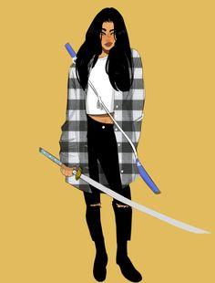 modern day samurai by boyofzoot