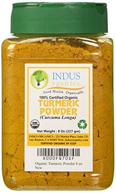 Indus Organic High Purity Turmeric Powder