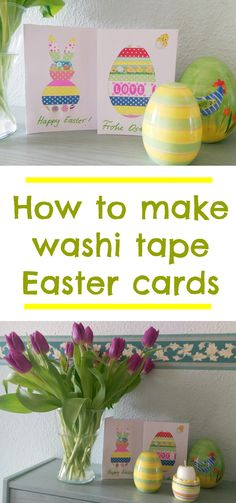 10 easy easter crafts for kids easter gifts bonnets games how to make washi tape easter cards simple easter cards easter crafts negle Gallery