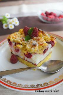 Kuchnia Koloru Blond: Malinowa pianka Homemade Cakes, Quiche, French Toast, Cooking Recipes, Breakfast, Blond, Savoury Pies, Few Ingredients, Food Food