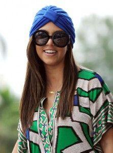 Kourtney kardashian s turbant... love the look Complementos Para El Pelo dabf9c28be8