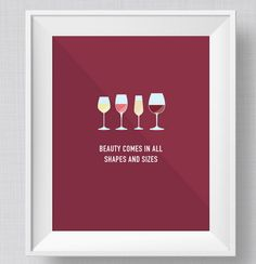 For wine connoisseurs. | 27 Perfect Prints Your Walls Wish That You'd Buy