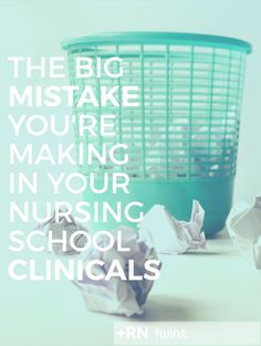 Many nursing students are making this same mistake each semester every time they start a new clinical. What is this mistake and how is it affecting your future as a nurse? Click through to learn how exactly you can correct it and stay on the path to success!
