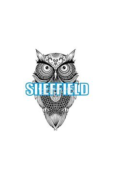 'Sheffield owl football design' iPhone Case by graph-fix Arsenal Fc Players, Sheffield Wednesday, South Yorkshire, Football Design, Wood Burning Art, Pinterest Marketing, Iphone Case Covers, Owls, Social Media Marketing