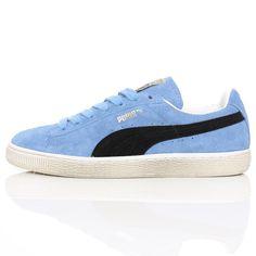 Puma Suede Vintage Distress Low Team Pearl/Blue @wellgosh