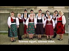 Édesanyám, be jó kend - bukovinai népdal Folklore, Hungary, Traditional, Fashion, Bebe, Moda, Fashion Styles, Fashion Illustrations