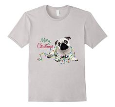 Men's Merry Christmas Pug and Christmas Lights Small Silv... https://www.amazon.com/dp/B01LXBWV3C/ref=cm_sw_r_pi_dp_x_xyv6xbVTV6P61