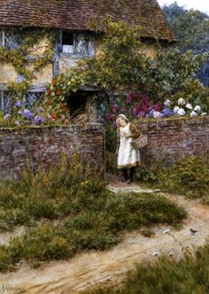 At Sandhills - Helen Allingham Prints - Easyart.com