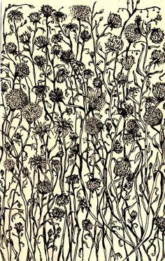"""Saatchi Online Artist: Gregorio Racadio; Pen and Ink, Drawing """"Study for Garden of Gethsemane """" #art"""