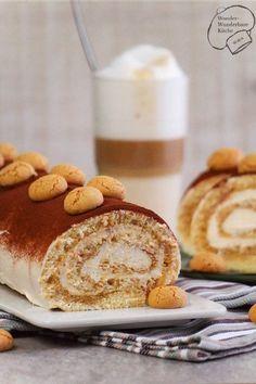 Der italienische Klassiker verpackt in einer Biskuit-Roulade! Einfacher zu servieren, schmeckt genauso lecker und ist schnell zubereitet.