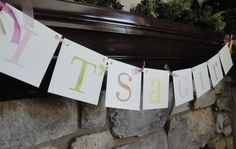 IT'S A GIRL baby shower banner / sign / by CowCountryCreations, $15.00