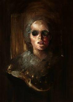 "Artist Andrei Varga; Painting, ""Unsaved Memory"" #art"